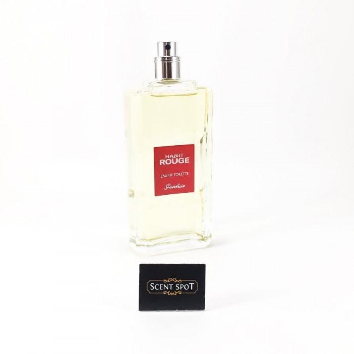 Habit Rouge by Guerlain (Tester) 100ml Eau De Toilette Spray (Men)