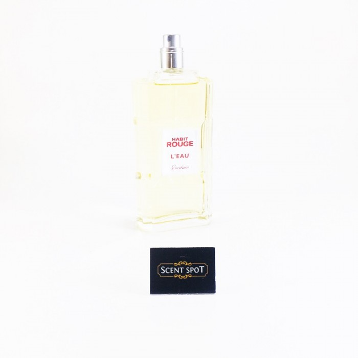 Habit Rouge L'eau by Guerlain (Tester) 100ml Eau De Toilette Spray (Men)