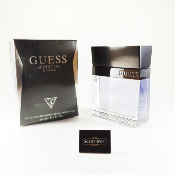 Seductive by Guess (New in Box) 100ml Eau De Toilette Spray (Men)