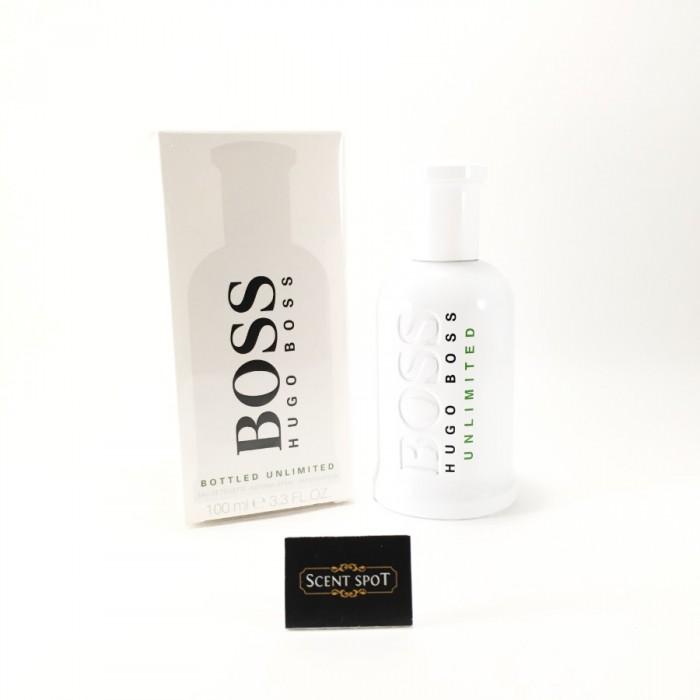 Boss Bottled Unlimited by Hugo Boss (New in Box) 100ml Eau De Toilette Spray (Men)