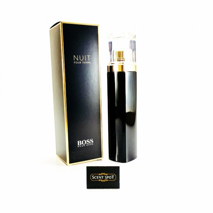 Boss Nuit by Hugo Boss (New in Box) 75ml Eau De Parfum Spray (Women)