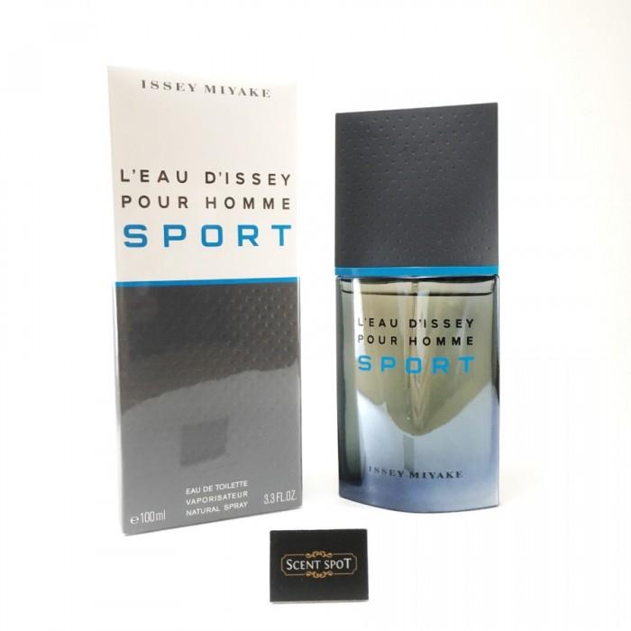 L'eau D'issey Pour Homme Sport by Issey Miyake (New in Box) 100ml Eau De Toilette Spray (Men)