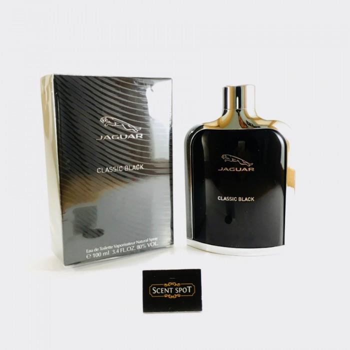 Classic Black by Jaguar (New in Box) 100ml Eau De Toilette Spray (Men)