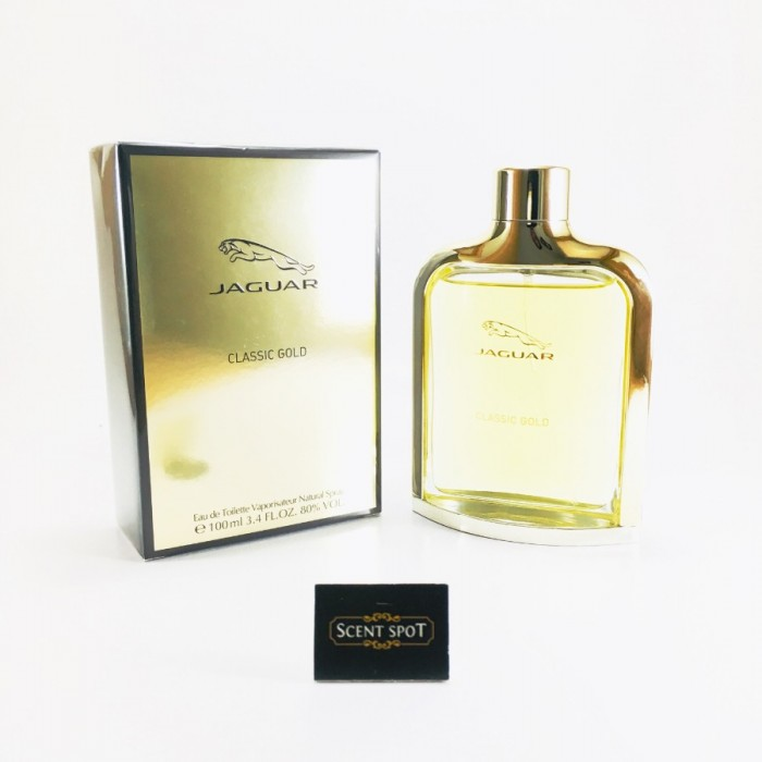 Classic Gold by Jaguar (New in Box) 100ml Eau De Toilette Spray (Men)