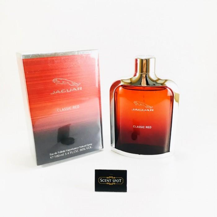 Classic Red by Jaguar (New in Box) 100ml Eau De Toilette Spray (Men)