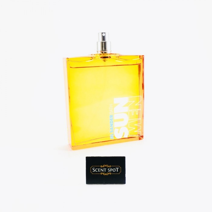 Sun Bath by Jil Sander (Tester) 125ml Eau De Toilette Spray (Men)