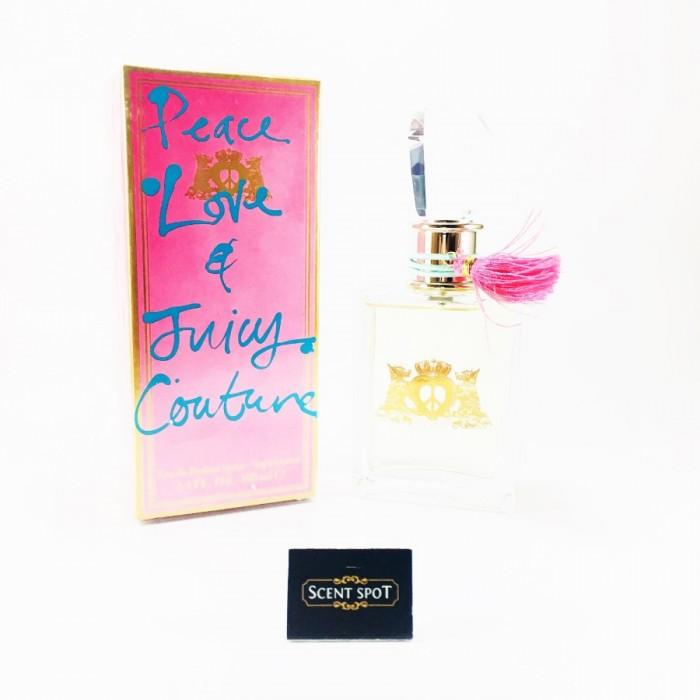 Peace Love & Juicy Couture by Juicy Couture (New in Box) 100ml Eau De Parfum Spray (Women)