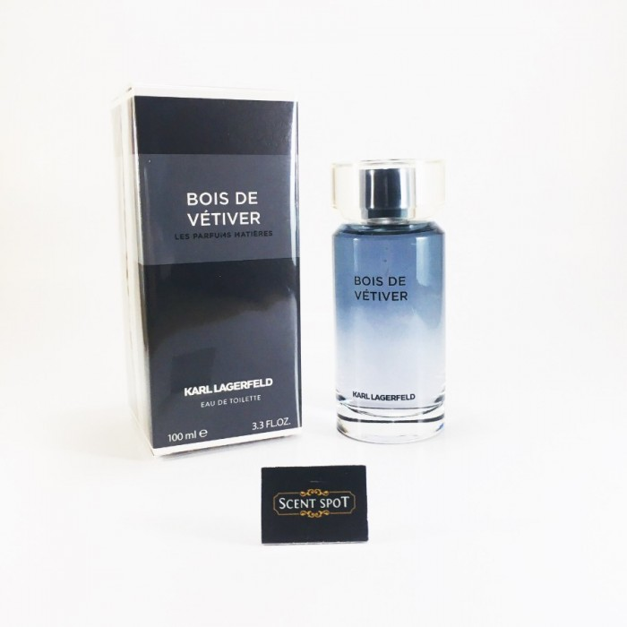 Bois De Vetiver by Karl Lagerfeld (New in Box) 100ml Eau De Toilette Spray (Men)