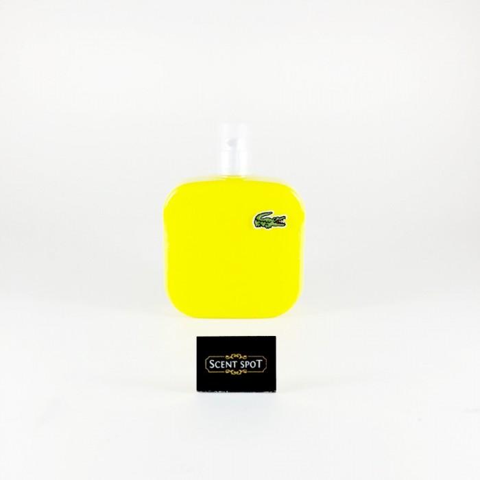 Eau De Lacoste L.12.12 Jaune by Lacoste (Tester) 100ml Eau De Toilette Spray (Men)