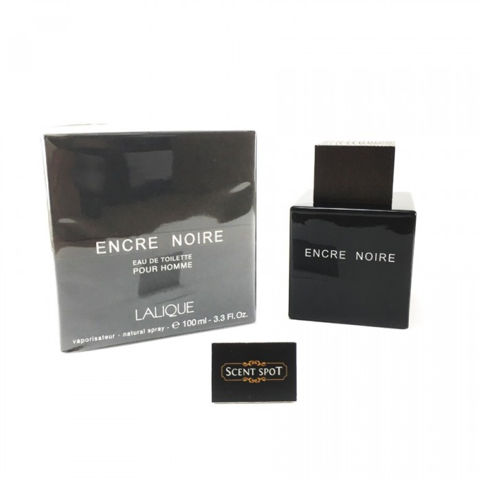 Encre Noire by Lalique (New in Box) 100ml Eau De Toilette Spray (Men)