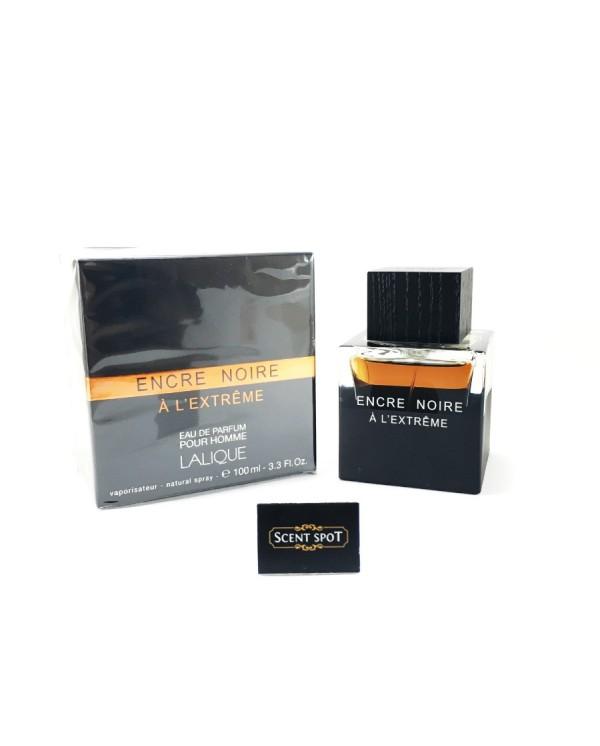 Encre Noire A L'extreme by Lalique (New in Box) 100ml Eau De Parfum Spray (Men)