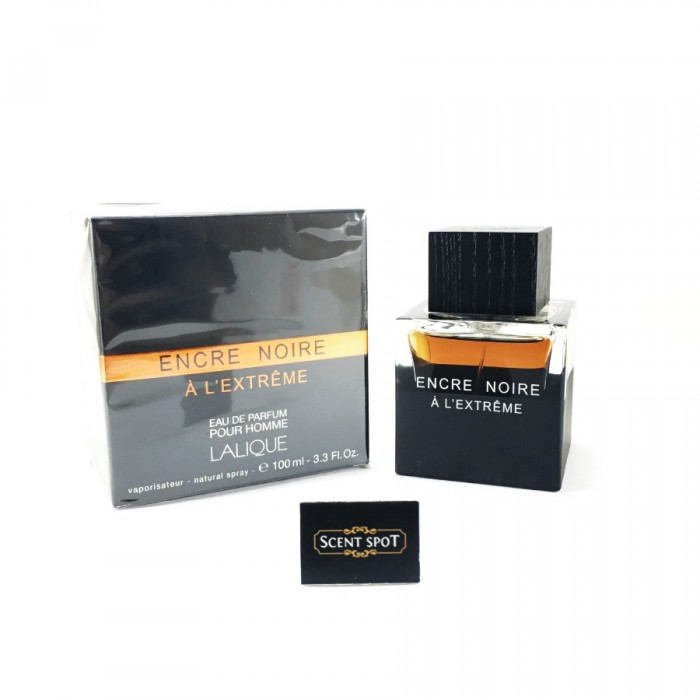 Encre Noire A L'extreme by Lalique (New in Box) 100ml Eau De Parfum Spray (Men)
