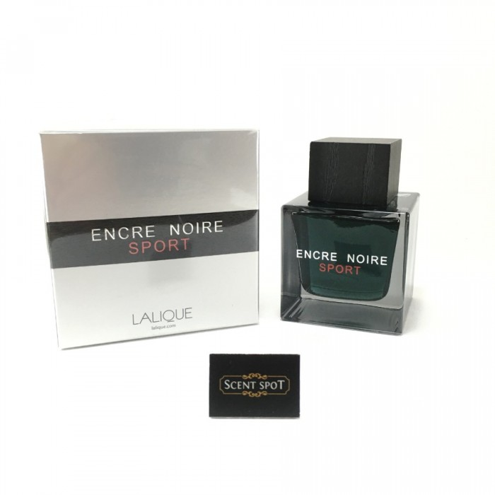 Encre Noire Sport by Lalique (New in Box) 100ml Eau De Toilette Spray (Men)