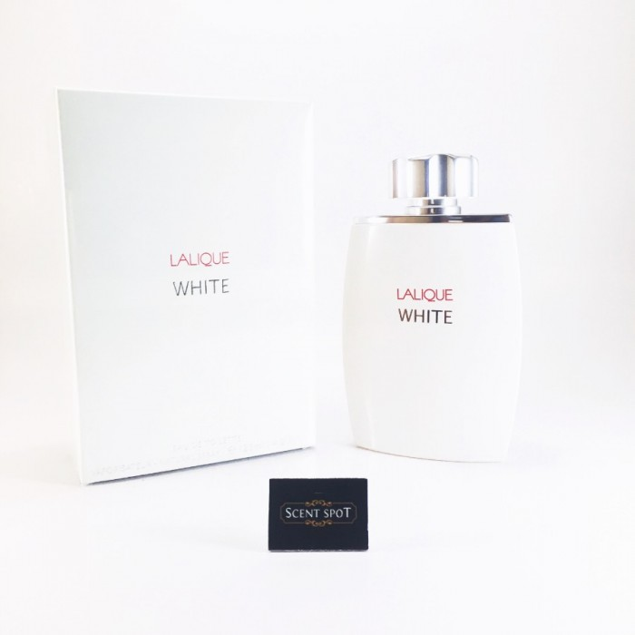 White by Lalique (New in Box) 125ml Eau De Toilette Spray (Men)
