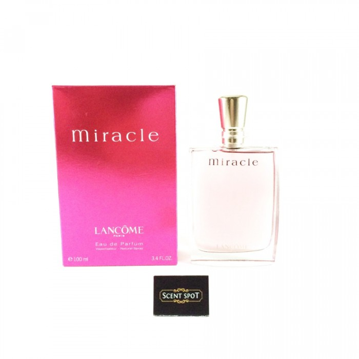Miracle by Lancome (New in Box) 100ml Eau De Parfum Spray (Women)