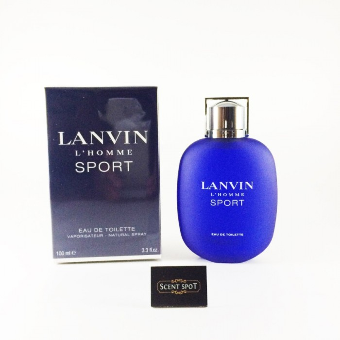 Lanvin L'homme Sport by Lanvin (New in Box) 100ml Eau De Toilette Spray (Men)