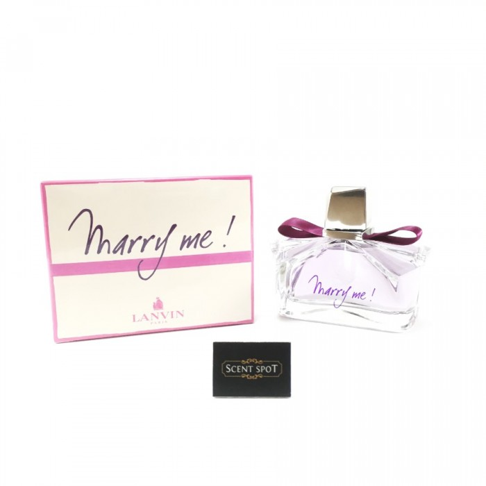 Marry Me by Lanvin (New in Box) 75ml Eau De Parfum Spray (Women)