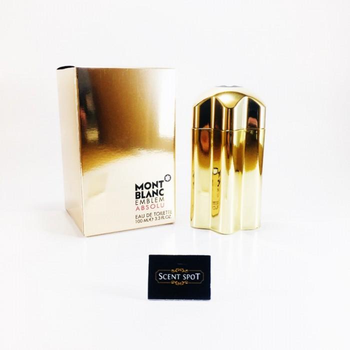 Emblem Absolu by Mont Blanc (New in Box) 100ml Eau De Toilette Spray (Men)