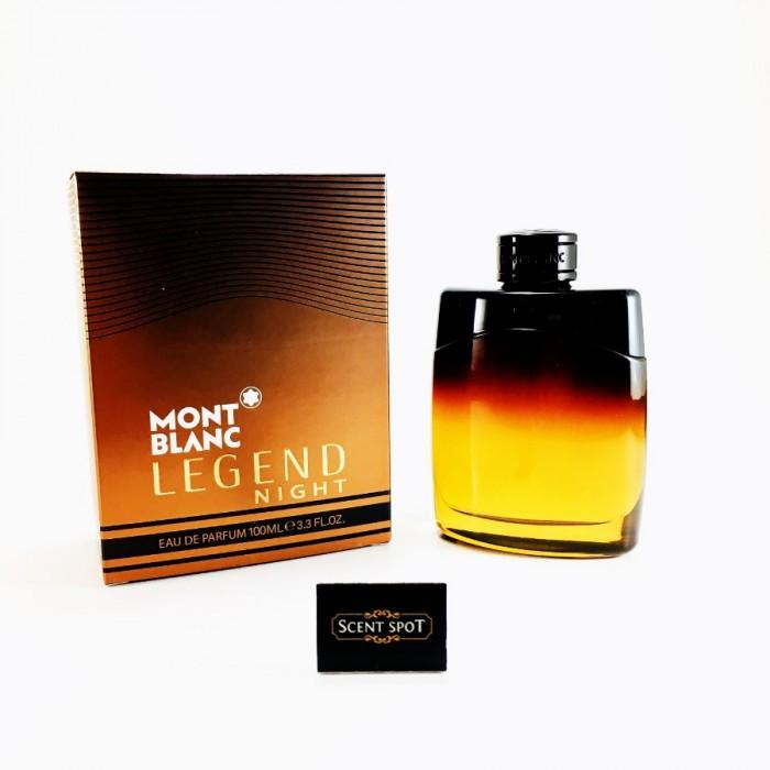 Legend Night by Mont Blanc (New in Box) 100ml Eau De Parfum Spray (Men)