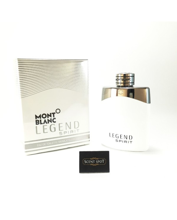 Legend Spirit by Mont Blanc (New in Box) 100ml Eau De Toilette Spray (Men)