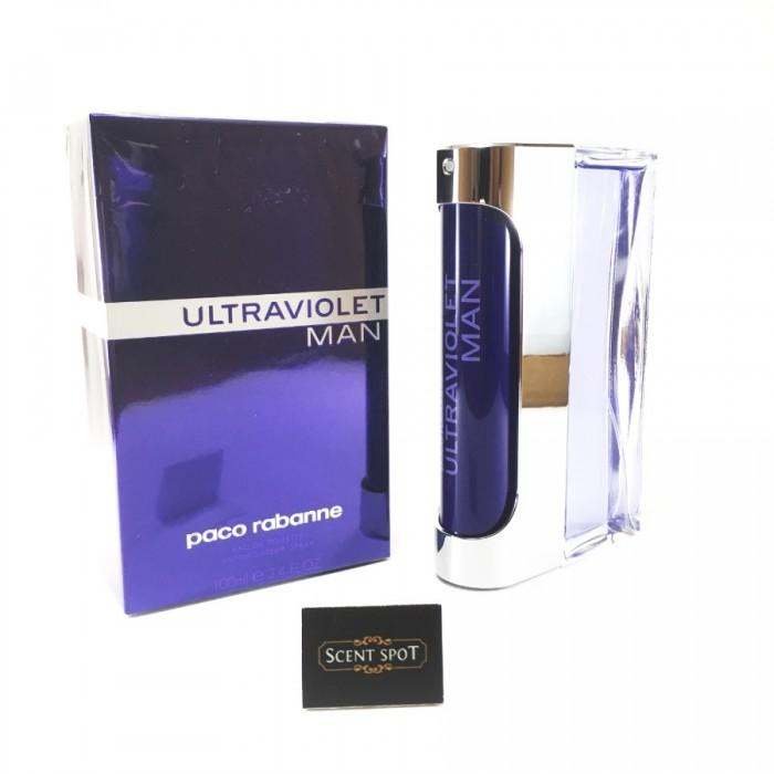 Ultraviolet by Paco Rabanne (New in Box) 100ml Eau De Toilette Spray (Men)