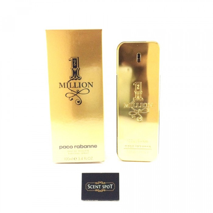 1 Million by Paco Rabanne (New in Box) 100ml Eau De Toilette Spray (Men)