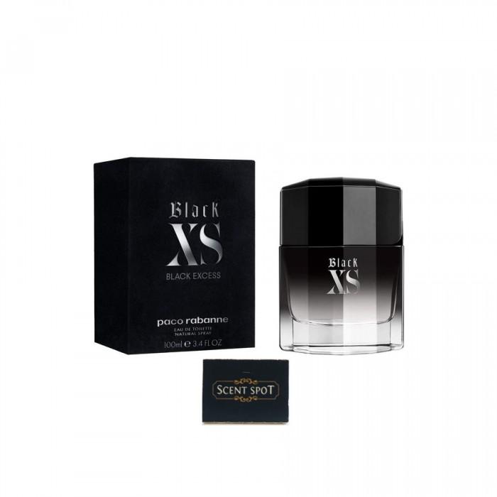 Black XS by Paco Rabanne (New in Box) 100ml Eau De Toilette Spray (Men)