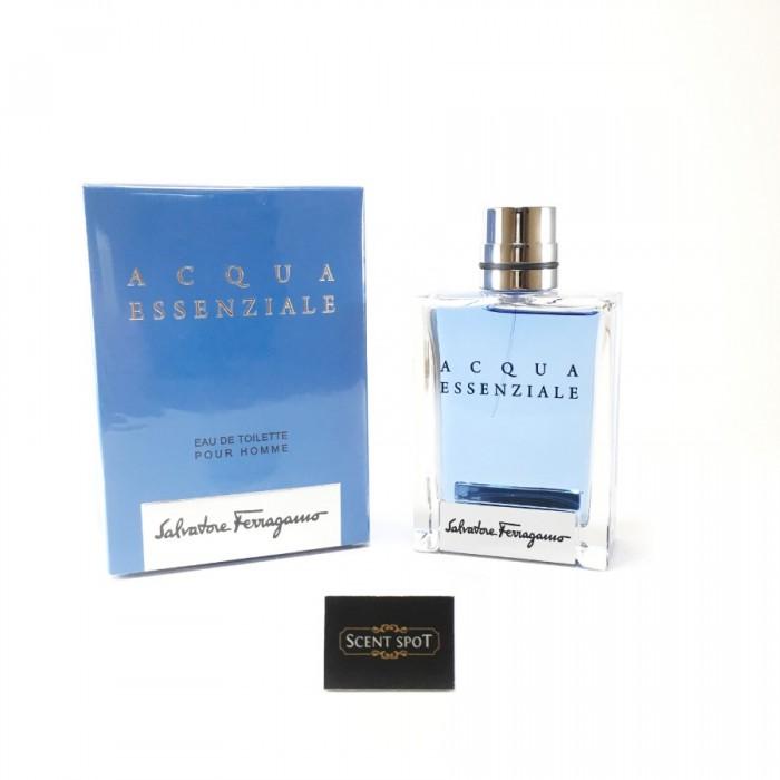 Acqua Essenziale by Salvatore Ferragamo (New in Box) 100ml Eau De Toilette Spray (Men)