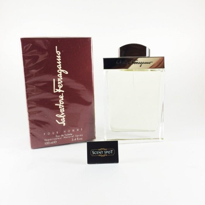 Salvatore Ferragamo by Salvatore Ferragamo (New in Box) 100ml Eau De Toilette Spray (Men)