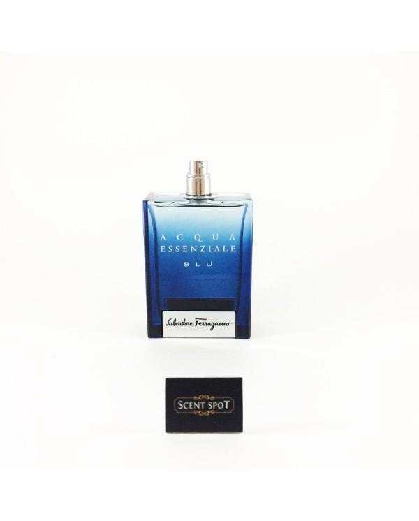 Acqua Essenziale Blu by Salvatore Ferragamo (Tester) 100ml Eau De Toilette Spray (Men)