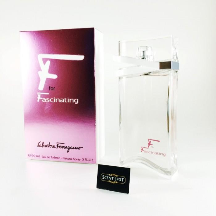 F for Fascinating by Salvatore Ferragamo (New in Box) 90ml Eau De Toilette Spray (Women)