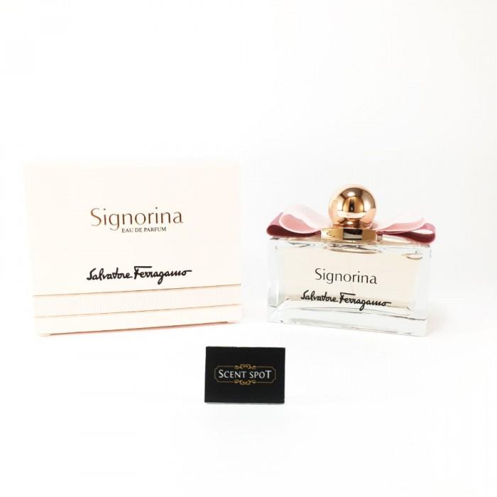 Signorina by Salvatore Ferragamo (New in Box) 100ml Eau De Parfum Spray (Women)