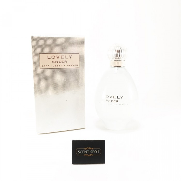 Lovely Sheer by Sarah Jessica Parker (New in Box) 100ml Eau De Parfum Spray (Women)