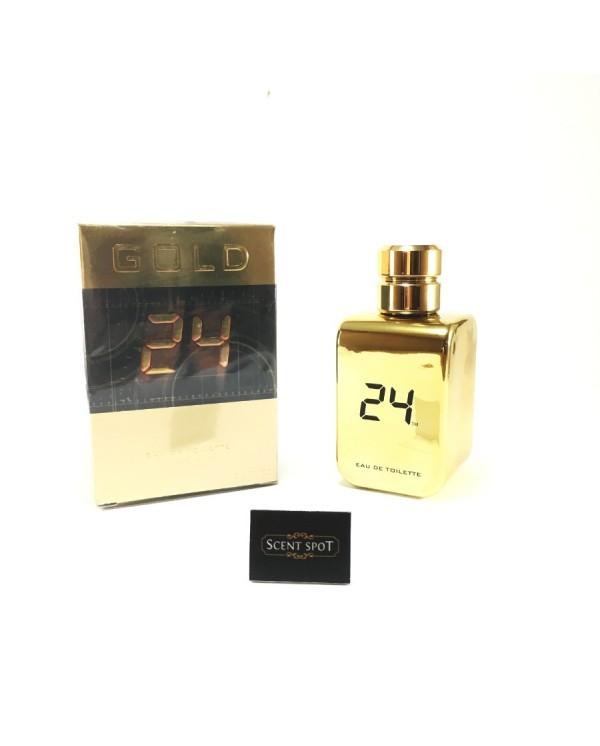 24 Gold by ScentStory (New in Box) 100ml Eau De Toilette Spray (Unisex)