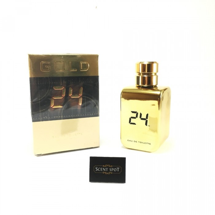 24 Gold by ScentStory (New in Box) 100ml Eau De Toilette Spray (Unisex)