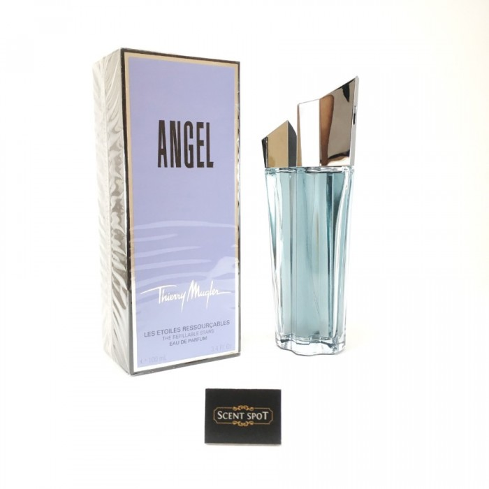 Angel Refillable by Thierry Mugler (New in Box) 100ml Eau De Parfum Spray (Women)