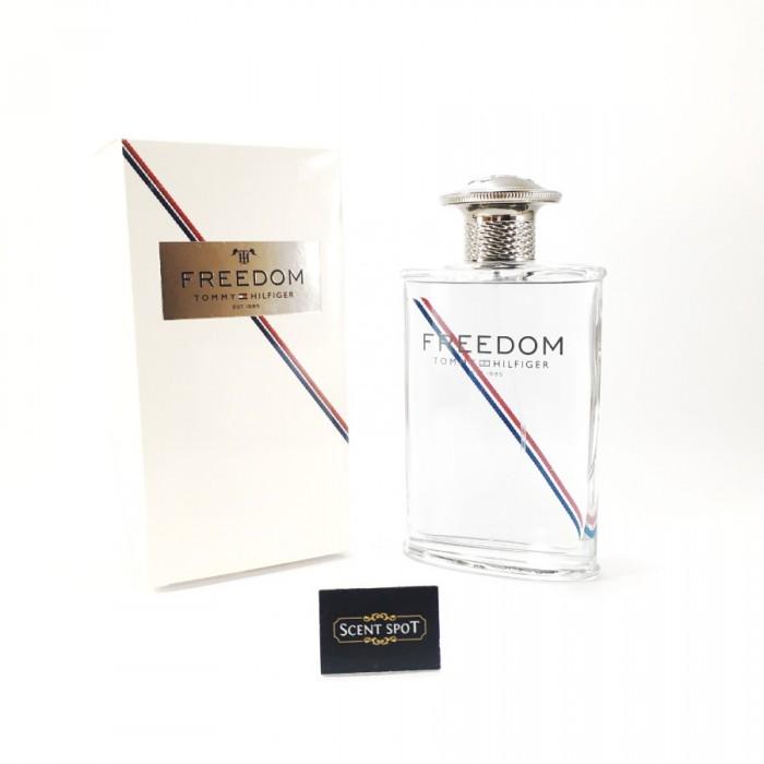 Freedom (New Packaging) by Tommy Hilfiger (New in Box) 100ml Eau De Toilette Spray (Men)