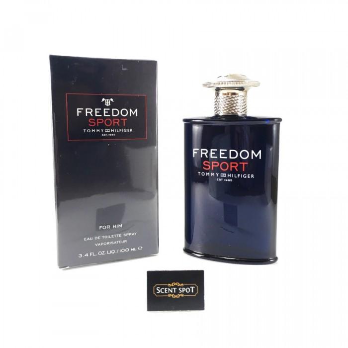 Freedom Sport by Tommy Hilfiger (New in Box) 100ml Eau De Toilette Spray (Men)