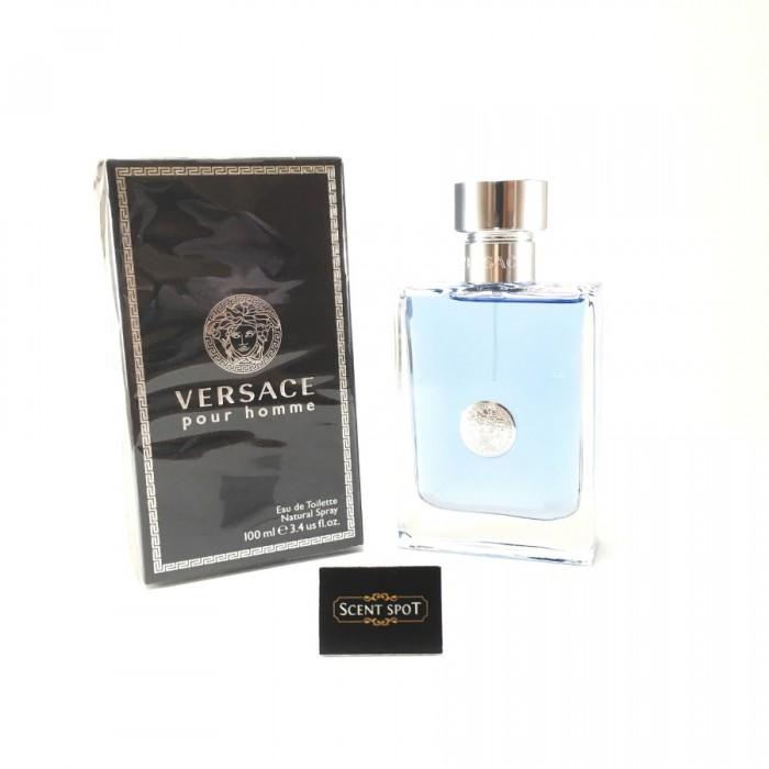 Pour Homme by Versace (New in Box) 100ml Eau De Toilette Spray (Men)