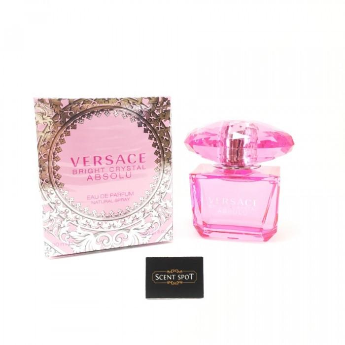 Bright Crystal Absolu by Versace (New in Box) 90ml Eau De Parfum Spray (Women)