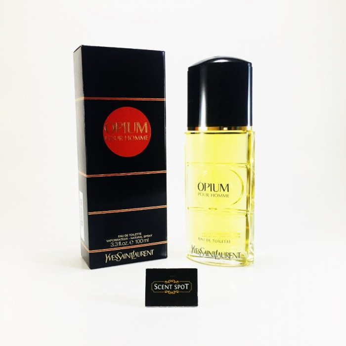 Opium by Yves Saint Laurent (New in Box) 100ml Eau De Toilette Spray (Men)