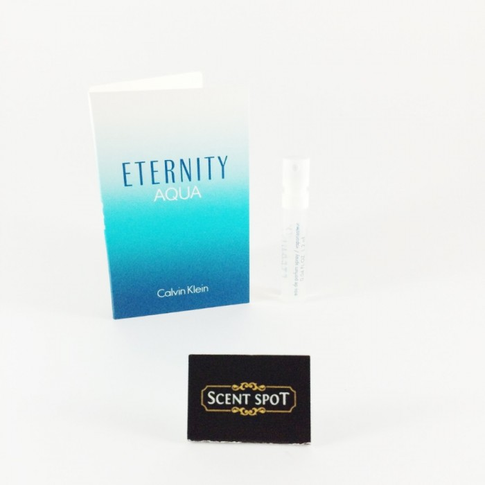 Eternity Aqua by Calvin Klein (Vial / Sample) 1.2ml Eau De Parfum Spray (Women)