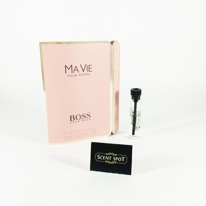 Ma Vie Pour Femme by Hugo Boss (Vial / Sample) 2ml Eau De Parfum Dab On (Women)