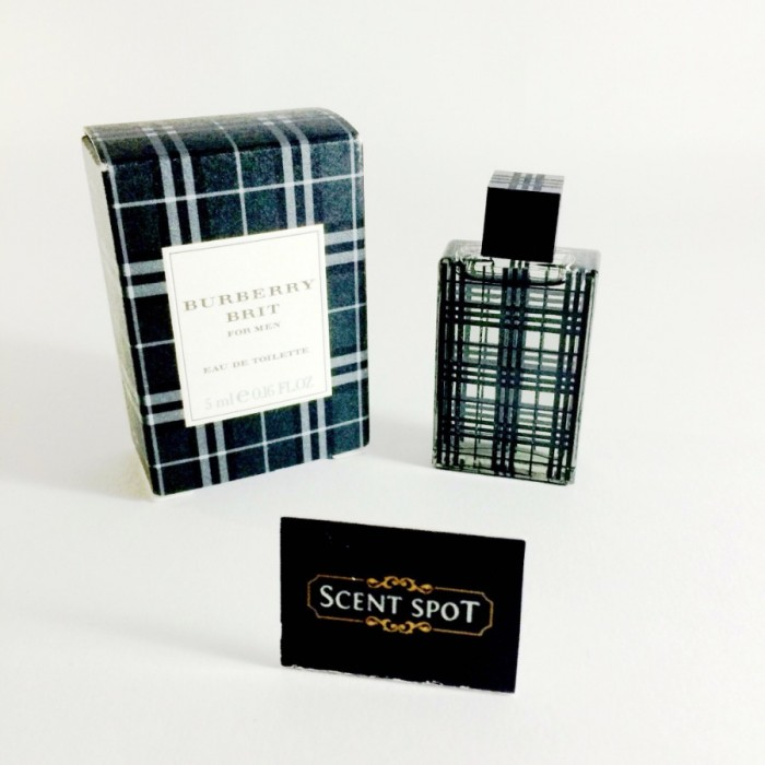 Brit by Burberry (Miniature / Travel) 5ml Eau De Toilette Dab On (Men)