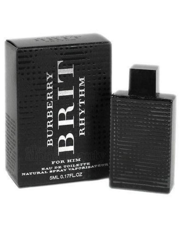 Brit Rhythm by Burberry (Miniature / Travel) 5ml Eau De Toilette Dab On (Men)
