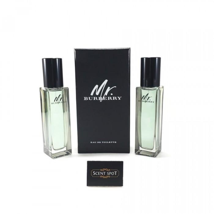 Mr Burberry by Burberry (Miniature / Travel) (30+30)ml Eau De Toilette Spray (Men)