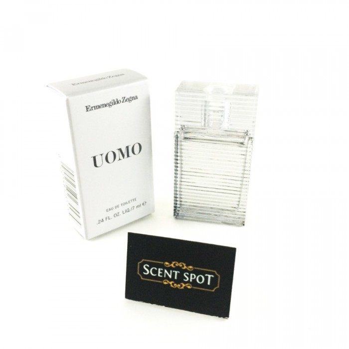 Uomo by Ermenegildo Zegna (Miniature / Travel) 7ml Eau De Toilette Dab On (Men)