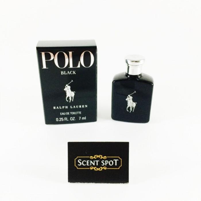 Polo Black by Ralph Lauren (Miniature / Travel) 7ml Eau De Toilette Dab On (Men)
