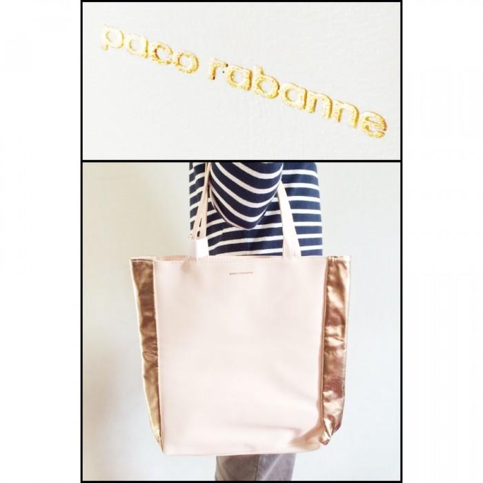 Paco Rabanne Accessories - Colour: Peach - 36cm x 7.5cm x 36cm by Paco Rabanne (Tote Bag) (Women)