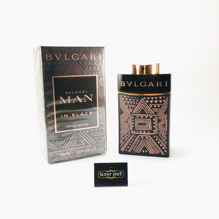 Man In Black Essence by Bvlgari (New in Box) 100ml Eau De Parfum Spray (Men)